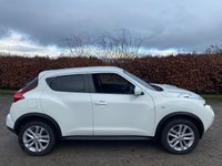 USED 2012 62 NISSAN JUKE 1.5 ACENTA SPORT DCI 5d SERVICE HISTORY, MOT TO OCTOBER 2021, BLUETOOTH, CRUISE CONTROL, PRIVACY GLASS