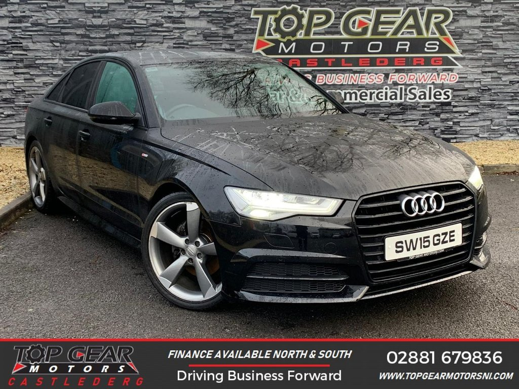 USED 2015 15 AUDI A6 2.0TDI 190BHP ULTRA S-LINE BLACK EDITION  **Bose Surround Sound System, Parking Sensors, Alloys Included** OVER 90 VEHICLES IN STOCK