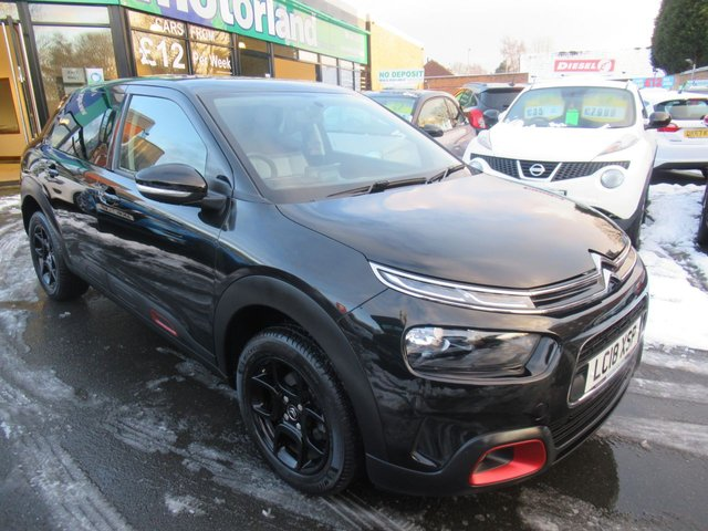 USED 2018 18 CITROEN C4 CACTUS 1.2 PURETECH FEEL EDITION 5d 81 BHP ** 1 OWNER FROM BRAND NEW *