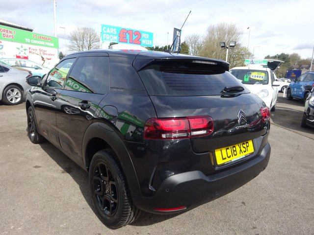 USED 2018 18 CITROEN C4 CACTUS 1.2 PURETECH FEEL EDITION 5d 81 BHP **ONLY 13,000 MILES FROM NEW !! **
