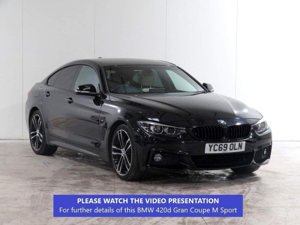 USED 2019 69 BMW 4 SERIES GRAN COUPE 2.0 420i GPF M Sport Gran Coupe Auto (s/s) 5dr FACELIFT/M SPORT PLUS PACK