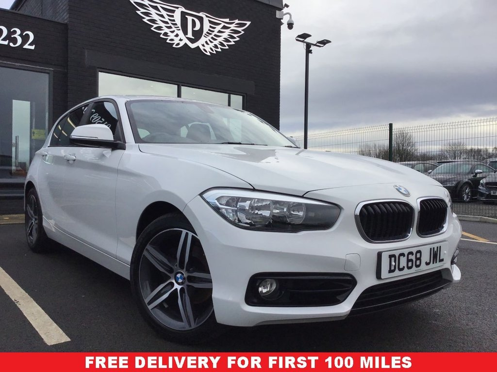 USED 2018 68 BMW 1 SERIES 118i [1.5] Sport 5dr [Nav/Servotronic] FINANCE RATES FROM 5.9%