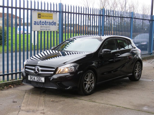 USED 2014 14 MERCEDES-BENZ A-CLASS 1.5 A180 CDI BLUEEFFICIENCY SPORT 5dr 109 Sat nav prep Cruise 1/2 Leather Bluetooth Alloys Auto lights  Finance arranged Part exchange available Open 7 days