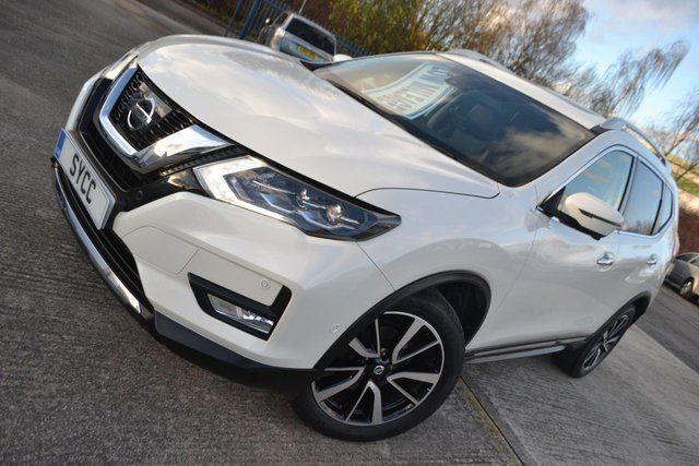 USED 2019 19 NISSAN X-TRAIL 1.6 DCI TEKNA 5d 130 BHP ~ PAN ROOF ~ SAT NAV ~ 360 CAMS SAT NAV ~ PAN ROOF ~ 360 CAMERAS ~ HEATED FRONT AND REAR LEATHER