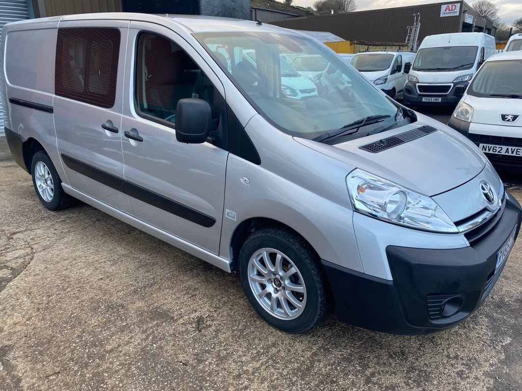 USED 2015 65 TOYOTA PROACE 2.0 L2H1 HDI 1200 P/V 127 BHP