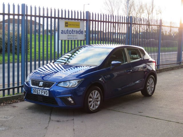 USED 2017 67 SEAT IBIZA 1.0 TSI SE 5d 94 BHP Air Conditioning & Low Insurance Air Conditioning-Alloy Wheels-Central Locking