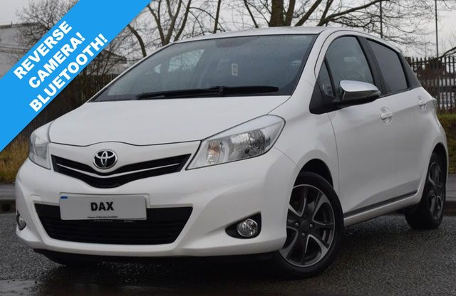USED 2014 14 TOYOTA YARIS 1.3 VVT-I TREND 5d 99 BHP 41,000 MILES! REVERSE CAMERA! BLUETOOTH! SUPERB EXAMPLE!