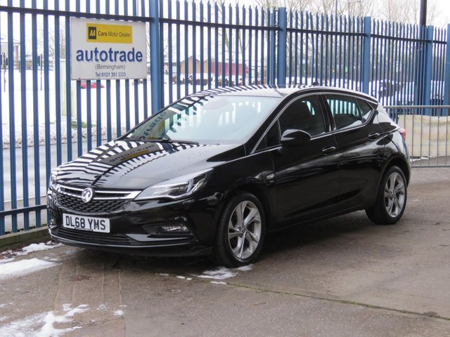 USED 2018 68 VAUXHALL ASTRA 1.0 SRI NAV ECOTEC S/S 5dr 104 Sat nav DAB Cruise Bluetooth & audio Alloys Finance arranged Part exchange available Open 7 days ULEX Compliant