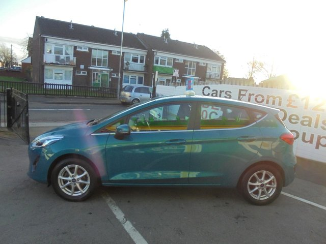 USED 2018 18 FORD FIESTA 1.0 ZETEC 5d 99 BHP ***JUST ARRIVED ...01543 877320***ZERO DEPOSIT AVAILABLE**