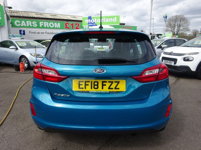 USED 2018 18 FORD FIESTA 1.0 ZETEC 5d 99 BHP ** TEST DRIVE TODAY **JUST ARRIVED.01543 877320