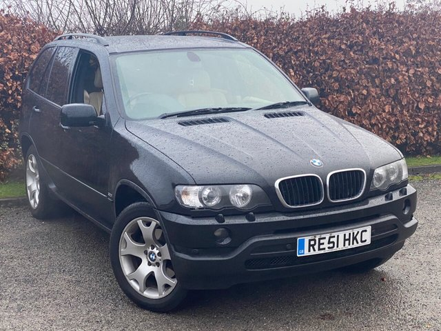 USED 2001 51 BMW X5 3.0 SPORT 24V 5d SERVICE HISTORY, MOT UNTIL NOVEMBER 2021, CRUISE CONTROL, FULL LEATHER INTERIOR