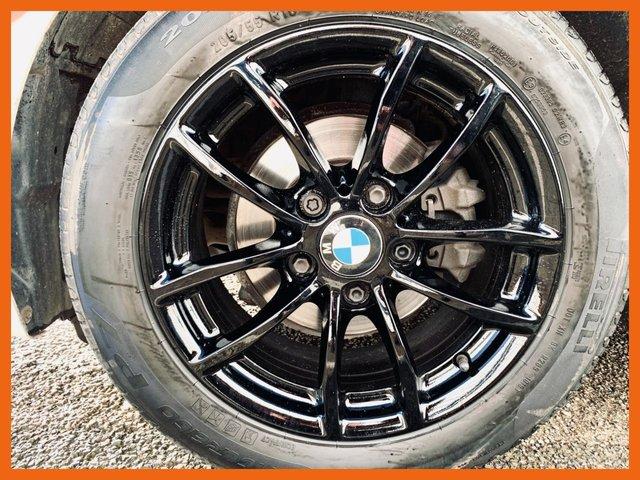 "USED 2013 13 BMW 1 SERIES 1.6 116D EFFICIENTDYNAMICS 5d 114 BHP BMW SERVICE HISTORY - 12 MONTH MOT - DAB RADIO - BLUETOOTH CONNECTIVITY - REAR PRIVACY GLASS - 16"" BLACK ALLOY WHEELS - 3 MONTH WARRANTY - 2 KEYS"