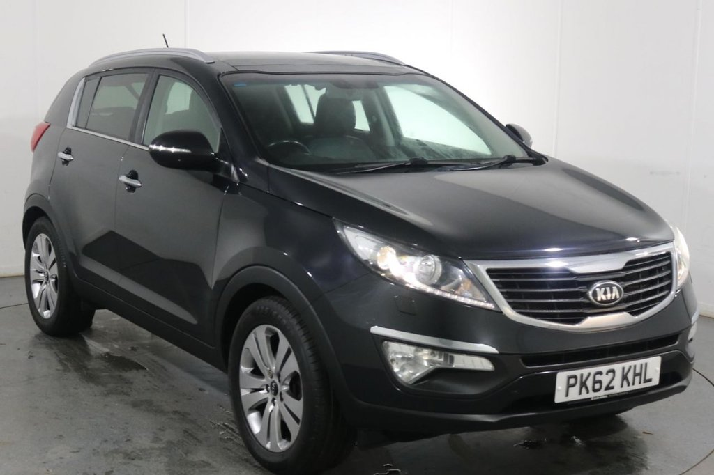 USED 2012 62 KIA SPORTAGE 1.7 CRDI 3 5d 114 BHP 2 OWNERS with 9 Stamp SERVICE HISTORY