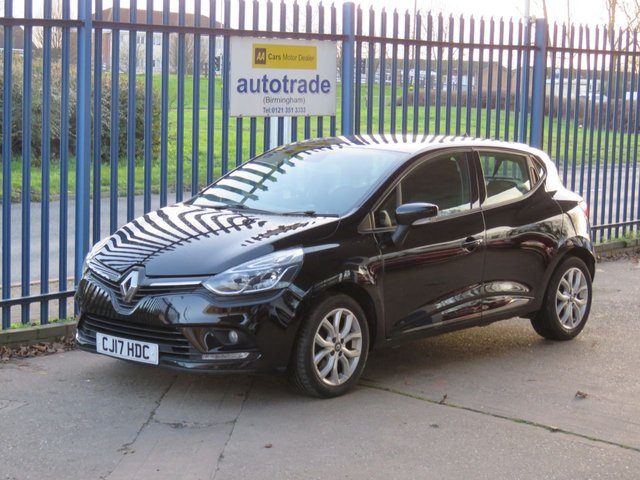 USED 2017 17 RENAULT CLIO 0.9 DYNAMIQUE NAV TCE 5d 89 BHP Sat Nav & Great fuel Economy