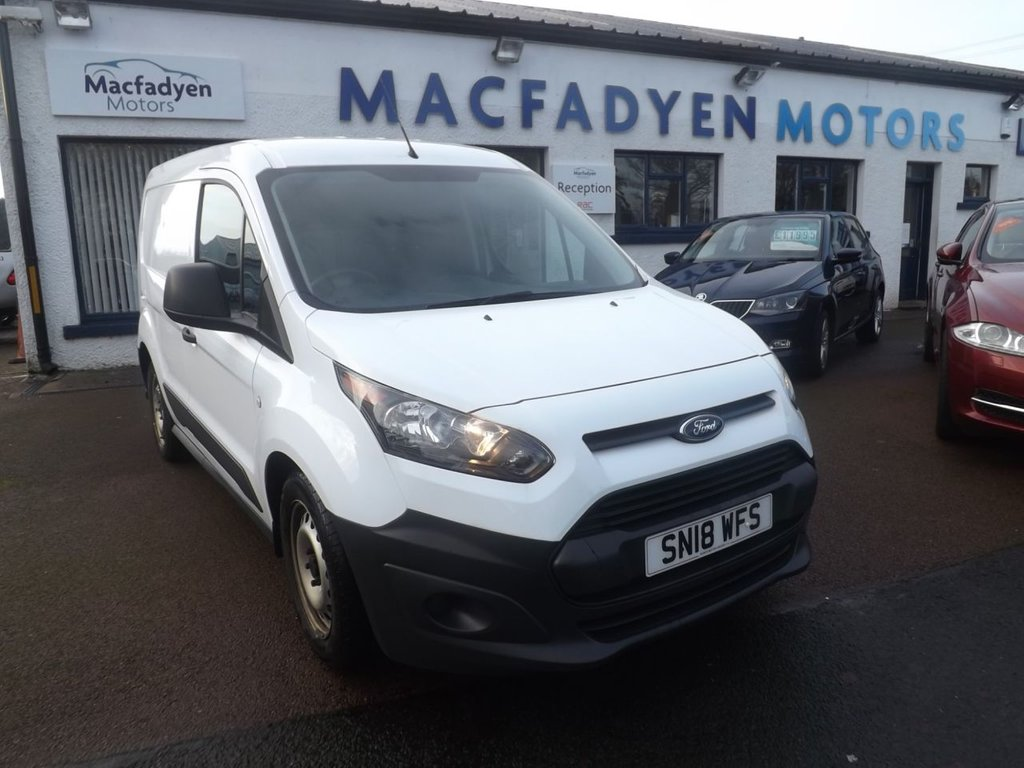 USED 2018 18 FORD TRANSIT CONNECT 1.5 200 P/V 0d 74 BHP