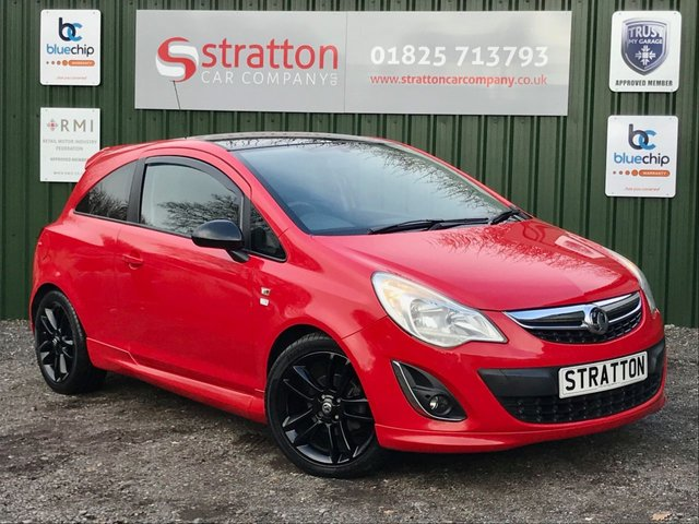 USED 2012 62 VAUXHALL CORSA 1.2 LIMITED EDITION 3d 83 BHP ONLY 61255 MILES