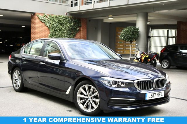 USED 2017 17 BMW 5 SERIES 2.0 520D SE 4d 188 BHP