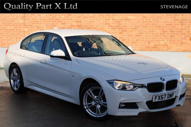 USED 2017 67 BMW 3 SERIES 2.0 320d BluePerformance M Sport Auto xDrive (s/s) 4dr LANE ASSIST, CAMERA, USB,DAB
