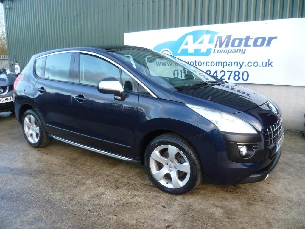 USED 2011 11 PEUGEOT 3008 2.0 HDi FAP Exclusive 5dr WE ARE OPEN BY APPOINTMENT