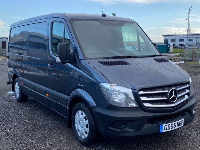 2016 65 MERCEDES-BENZ SPRINTER 2.1 313 CDI MWB 20TH ANNIVERSARY AIR CON SAT NAV TENORITE GREY