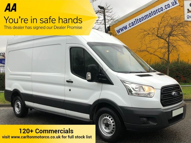 2016 16 FORD TRANSIT 350 TDCi 155 L3H3 [ MOBILE WORKSHOP+ A/C NAV ] LWB H/R VAN