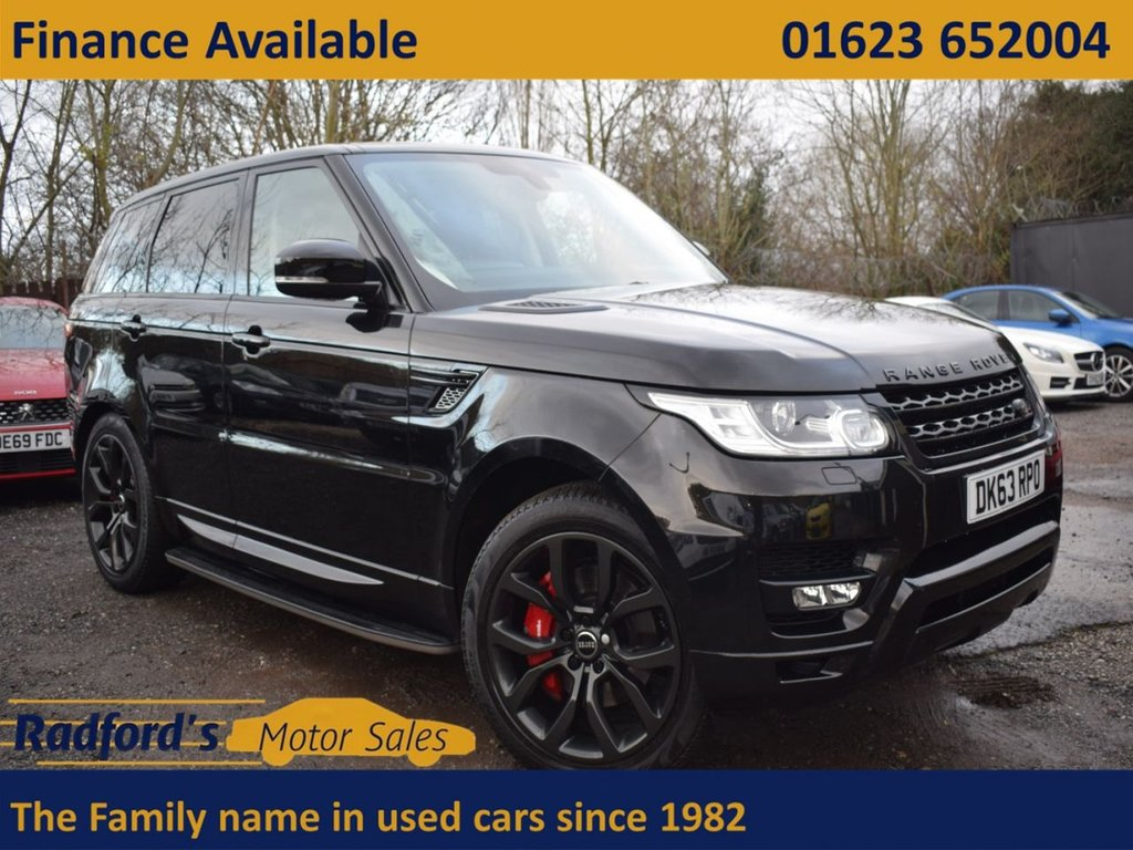 USED 2013 W LAND ROVER RANGE ROVER SPORT 3.0 SDV6 AUTOBIOGRAPHY DYNAMIC 5d 288 BHP
