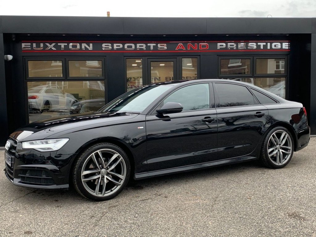 USED 2016 66 AUDI A6 SALOON 2.0 TDI ultra Black Edition S Tronic (s/s) 4dr FULL AUDI  SERVICE HISTORY