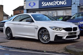 2017 BMW M4 3.0 M4 COMPETITION PACKAGE 2d 444 BHP £39500.00