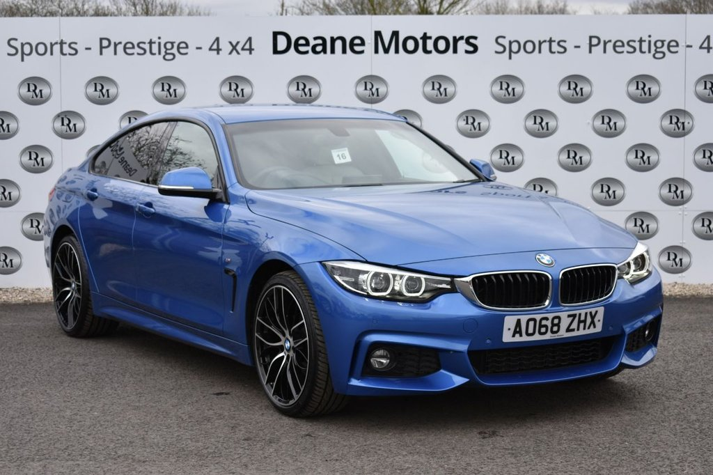 USED 2018 68 BMW 4 SERIES 2.0 420I M SPORT GRAN COUPE 4d 181 BHP ONLY 9000 MILES