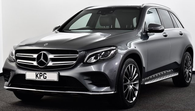 "USED 2018 67 MERCEDES-BENZ GLC-CLASS 3.0 GLC350d V6 AMG Line (Premium) G-Tronic 4MATIC (s/s) 5dr £49k New, Pan Roof, 20""s, NAV"