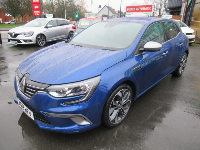 USED 2018 18 RENAULT MEGANE 1.5 GT LINE NAV DCI 5d 110 BHP ** 1 OWNER FROM BRAND NEW *