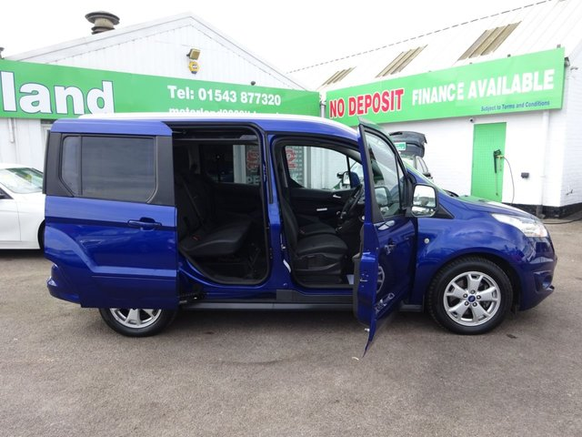 USED 2015 15 FORD TOURNEO CONNECT 1.6 TITANIUM TDCI 5d 94 BHP ***TEST DRIVE TODAY***JUST ARRIVED..01543 877320**