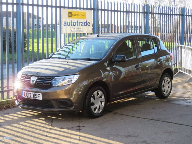 USED 2017 17 DACIA SANDERO 1.0 AMBIANCE SCE 5dr 73 DAB Bluetooth Air conditioning Finance arranged Part exchange available Open 7 days ULEX Compliant