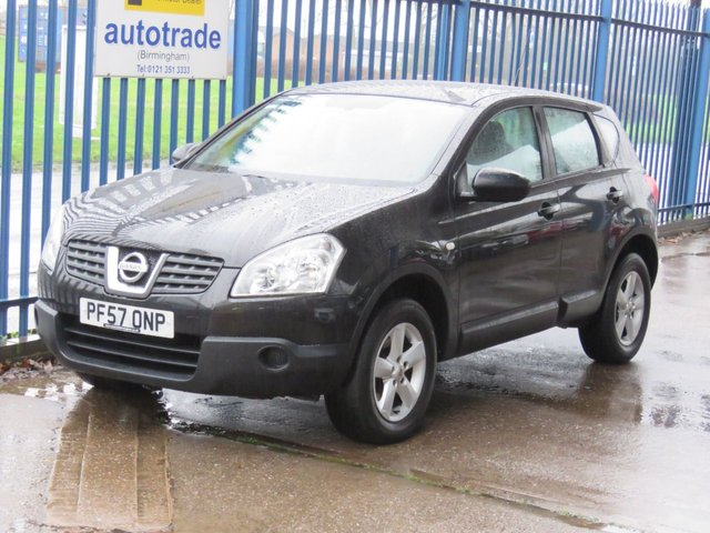 USED 2007 57 NISSAN QASHQAI 1.6 VISIA 5dr 113 Bluetooth Air con Alloys Electric windows Finance arranged Part exchange available Open 7 days ULEX Compliant