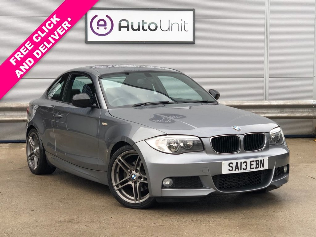 USED 2013 13 BMW 1 SERIES 2.0 118D SPORT PLUS EDITION 2d 141 BHP FULL LEATHER | BMW HISTORY | DUAL CLIMATE | BLUETOOTH | AUX & USB | PARKING SENSORS