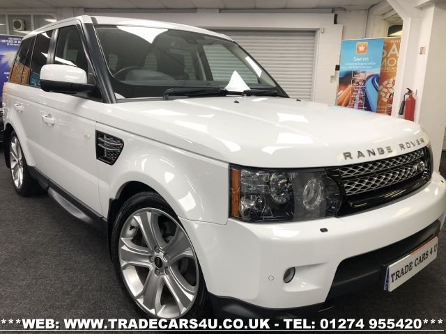 USED 2013 13 LAND ROVER RANGE ROVER SPORT 3.0 SDV6 HSE BLACK 5d 255 BHP FREE UK DELIVERY*VIDEO AVAILABLE* FINANCE ARRANGED* PART EX*HPI CLEAR