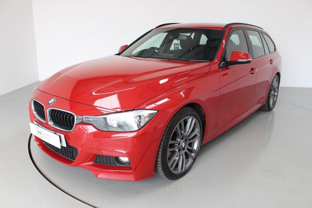 USED 2012 62 BMW 3 SERIES 2.0 320D M SPORT TOURING 5d-HEATED BLACK DAKOTA LEATHER-UPGRADE 19