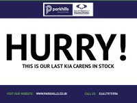 USED 2014 14 KIA CARENS 1.7 3 SAT NAV ECODYNAMICS CRDI 5d 135 BHP (1 OWNER - FULL DEALER  HISTORY)