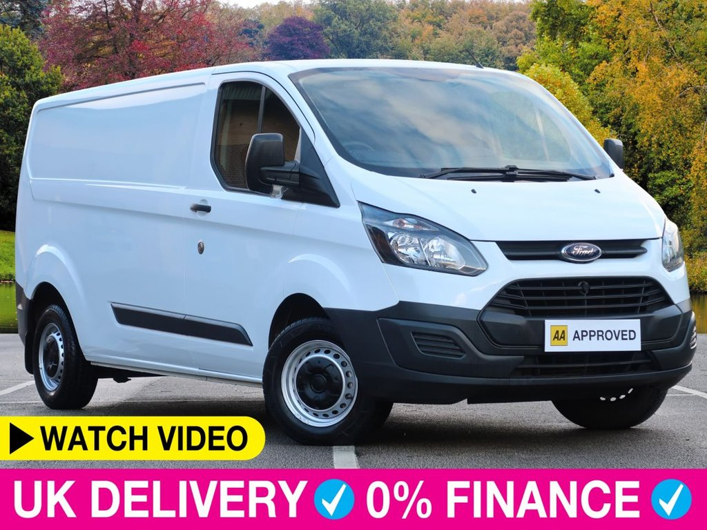 USED 2014 63 FORD TRANSIT CUSTOM 2.2 TDCi ECOnetic LWB 290 L2 H1 Long Van Long Wheel Base Low Mileage