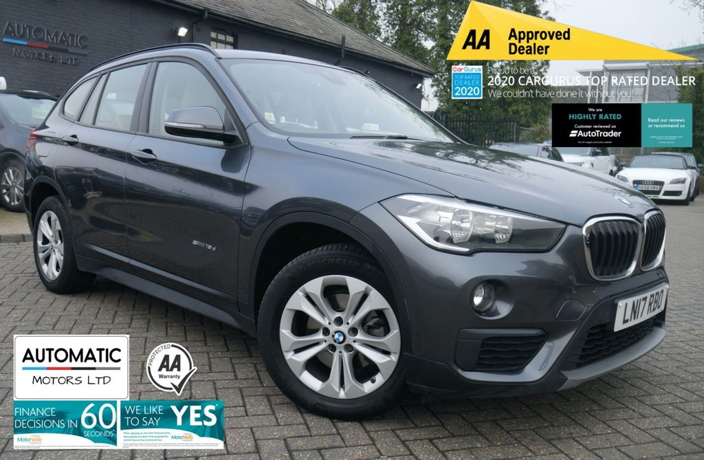 USED 2017 17 BMW X1 2.0 SDRIVE18D SE 5d 148 BHP 1 OWNER FROM NEW BLUETOOTH AUX PARKING SENSORS CRUISE CONTROL CLIMATE CONTROL