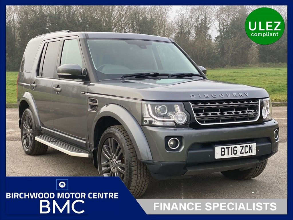 USED 2016 16 LAND ROVER DISCOVERY 3.0 SDV6 GRAPHITE 5d 255 BHP.Ulez Compliant, 1 OWNER, 7 SEATER, SUPER EXAMPLE,  FULL SERVICE HISTORY!!
