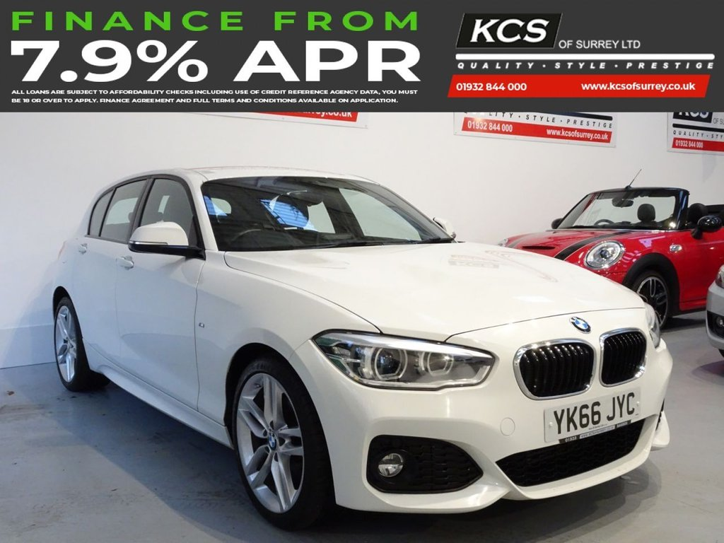 USED 2016 66 BMW 1 SERIES 2.0 120D XDRIVE M SPORT 5d 188 BHP 4WD - SAT NAV - HTD LEATHER