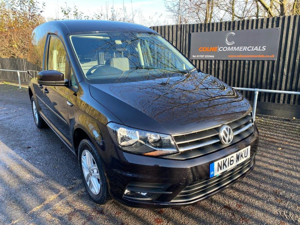 USED 2016 16 VOLKSWAGEN CADDY 2.0 TDI C20 BlueMotion Tech Highline EU6 (s/s) 5dr **RARE TWIN SIDE DOORS**