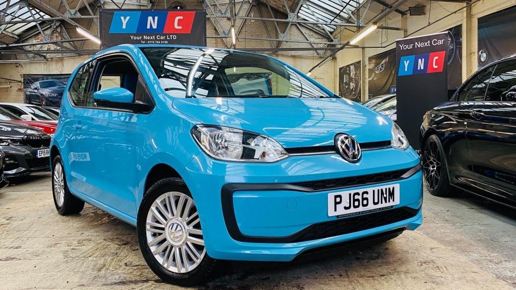 USED 2016 66 VOLKSWAGEN UP 1.0 Move up! 3dr STUNNINGCAR+15'S+BLUETOOTH+DAB