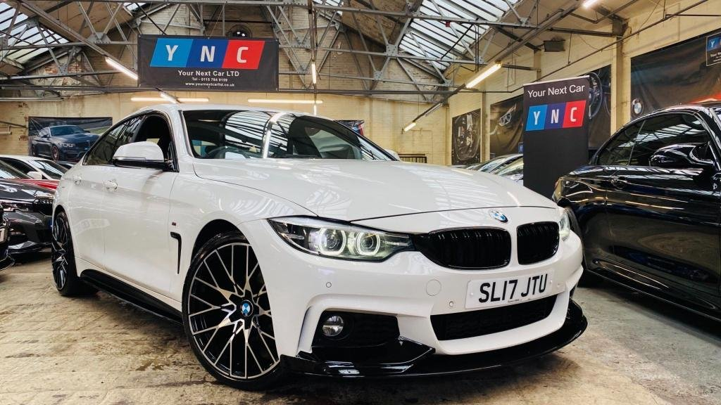 USED 2017 17 BMW 4 SERIES 2.0 420d M Sport Gran Coupe Auto (s/s) 5dr PERFORMANCEKIT+20S+FACELIFT