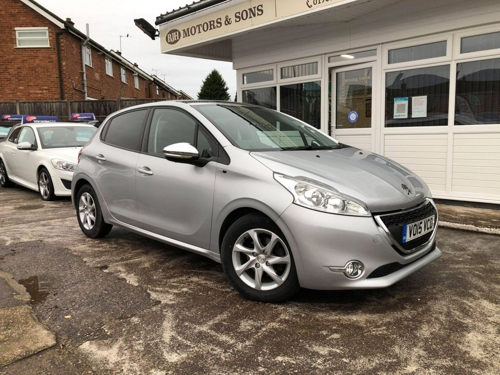 USED 2015 15 PEUGEOT 208 1.6 E-HDI STYLE 5d 92 BHP