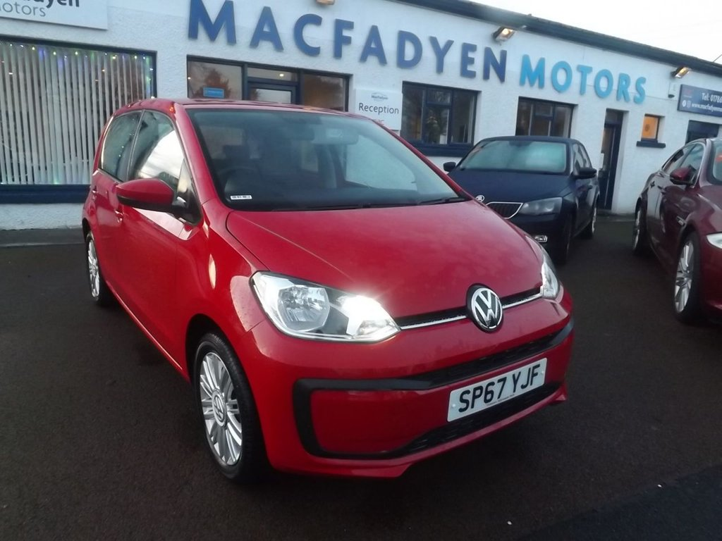 USED 2017 67 VOLKSWAGEN UP 1.0 MOVE UP 5d 60 BHP