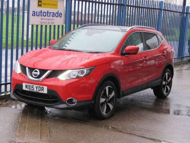 USED 2015 15 NISSAN QASHQAI 1.6 N-TEC PLUS DIG-T 5dr 163 Sat nav DAB Camera Pan roof Bluetooth & audio Cruise Finance arranged Part exchange available Open 7 days ULEX Compliant