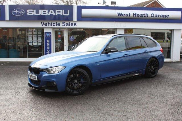 2015 13 BMW 3 SERIES 3.0 335D XDRIVE M SPORT TOURING 5d 309 BHP