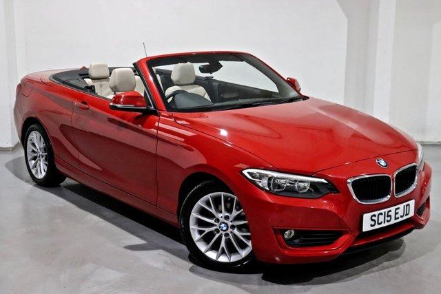 2015 15 BMW 2 SERIES 1.5 218I SE 2d 134 BHP